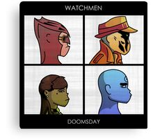 Watchmen - Doomsday Canvas Print