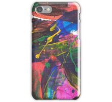 Abstract primary  iPhone Case/Skin