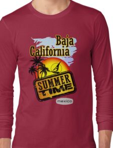 Baja California, Mexico Long Sleeve T-Shirt