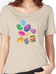 Many Easter eggs  Women's Relaxed Fit T-Shirt