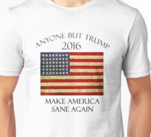 Anyone But Trump 2016 Unisex T-Shirt