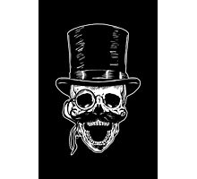 Victorian Skull with Monocle Photographic Print