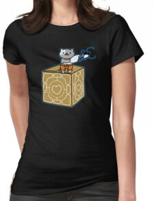 Portal Atsume Womens Fitted T-Shirt
