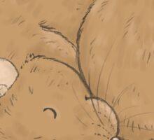 The Ratty Pompom Sticker