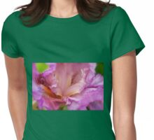 Crested Iris Womens Fitted T-Shirt