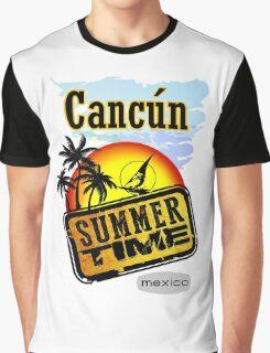 Cancun, Mexico Graphic T-Shirt