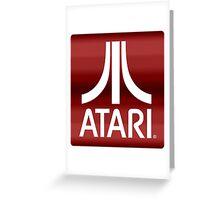 Atari Royal Red Greeting Card