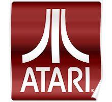 Atari Royal Red Poster
