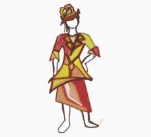 Sun color dress One Piece - Long Sleeve