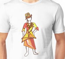 Sun color dress Unisex T-Shirt