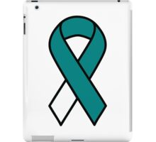 Cervical Cancer Ribbon iPad Case/Skin