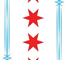 Chicago Flag Arrows by ataglance101