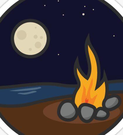 Campfire: Water Series Four Sticker