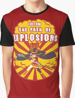 Path of Explosions Graphic T-Shirt