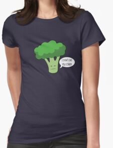 Bad Broccoli Womens Fitted T-Shirt