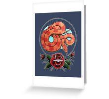 """Rosy Ratsnake"" Greeting Card"