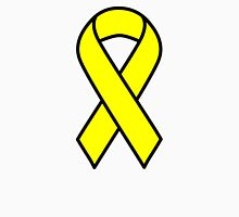 Yellow Support The Troops Ribbon Unisex T-Shirt