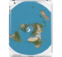 Flat earth time for change iPad Case/Skin