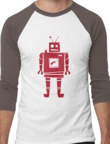 Robot Men's Baseball ¾ T-Shirt