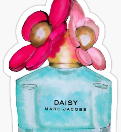 Daisy pink  Sticker
