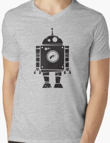 Robot Mens V-Neck T-Shirt