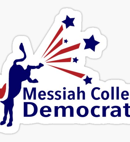 Messiah College Democrats 1 Sticker