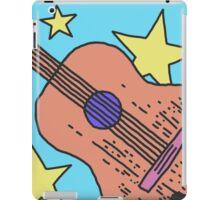 Guitar And Stars iPad Case/Skin