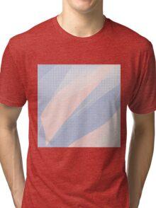 Rose Quartz Serenity Hatch Tri-blend T-Shirt