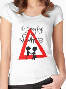 The Boney Kings of Nowhere Red Triangle Women's Fitted Scoop T-Shirt