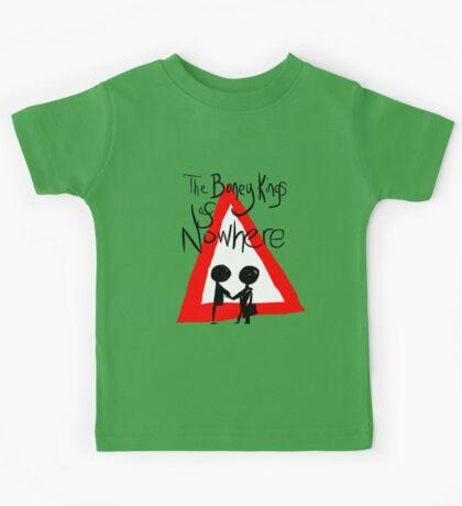 The Boney Kings of Nowhere Red Triangle Kids Tee