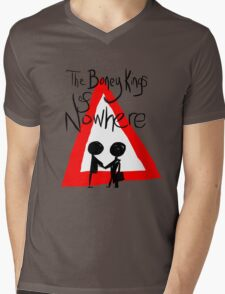 The Boney Kings of Nowhere Red Triangle Mens V-Neck T-Shirt