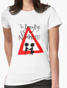 The Boney Kings of Nowhere Red Triangle Womens Fitted T-Shirt