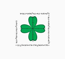 Mathematical four-leaf clover  Unisex T-Shirt