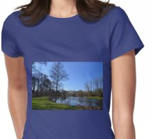Mangerton Mill Lake, Dorset UK Womens Fitted T-Shirt