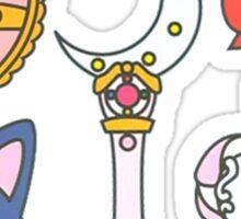 sailor scouts {accesories} Sticker