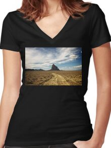 Shiprock Women's Fitted V-Neck T-Shirt