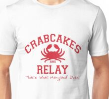 Crabcakes and Relay Unisex T-Shirt