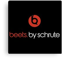 Beets By Schrute Canvas Print