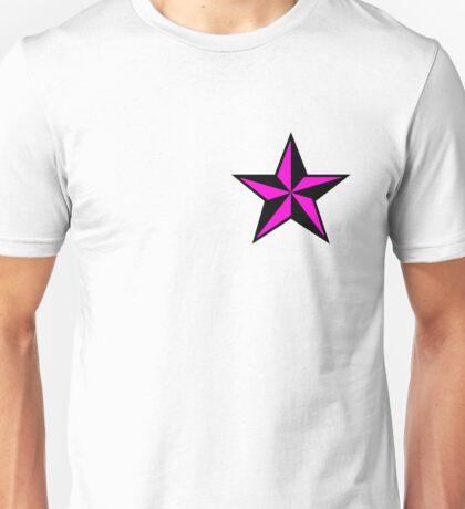 Pink Punk Star Unisex T-Shirt