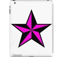 Pink Punk Star iPad Case/Skin