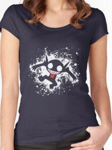 Sableye Splatter Women's Fitted Scoop T-Shirt