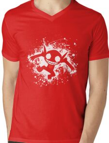Sableye Splatter Mens V-Neck T-Shirt