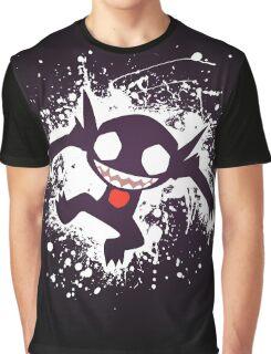 Sableye Splatter Graphic T-Shirt
