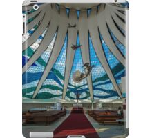Inside of the Cathedral of Brasília iPad Case/Skin