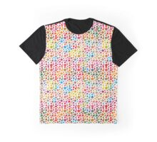 Colored balls pattern design Graphic T-Shirt