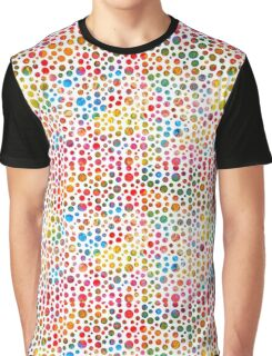 Colored balls pattern design Graphic T-Shirt