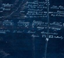American Revolutionary War Era Maps 1750-1786 882 Sketch of the battle of Camden Augt 16 1780 Inverted Sticker