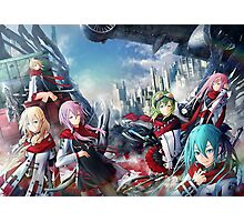 guilty Crown Ultimate Anime Crossover Photographic Print