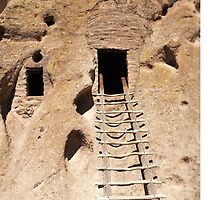 Bandelier National Monument by doorfrontphotos