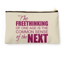 Freethinking Common Sense Studio Pouch